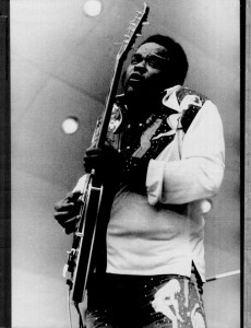 Freddie King and Blues Guitar Performances