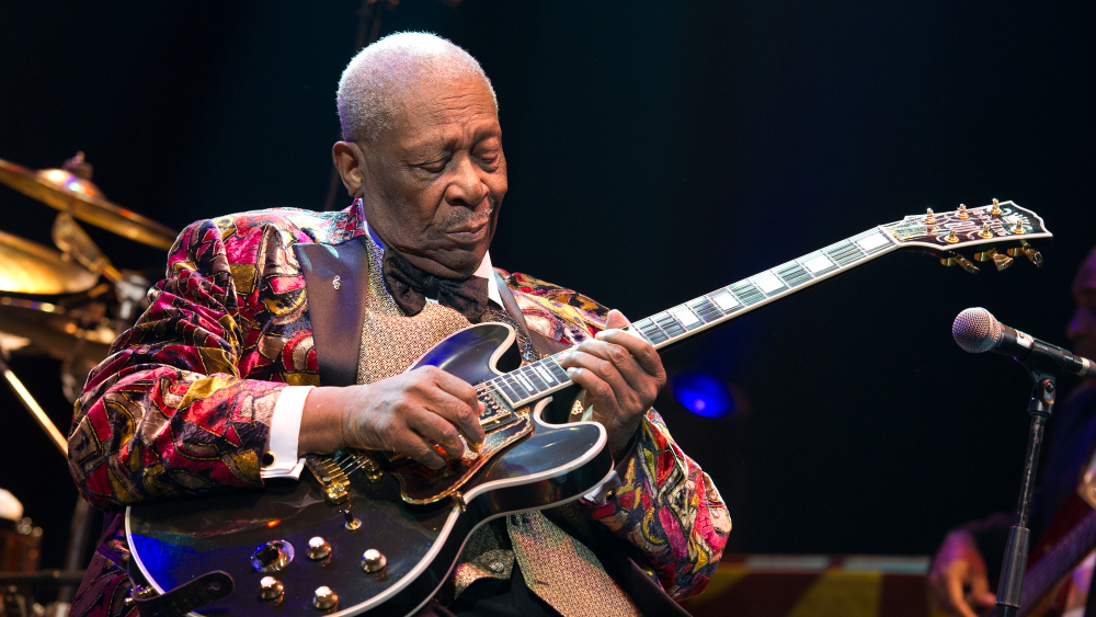 B.B. King Performs At Le Grand Rex